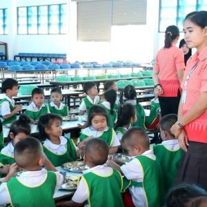 Nursery school lunches pass inspection