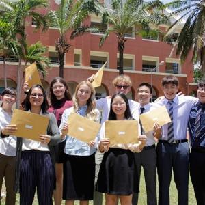Students at Regents International School Pattaya celebrate success with IGCSE results