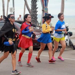 4,000 join charity beach run in Jomtien
