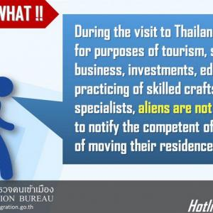 Phuket Immigration clarifies TM28, 24-hour reporting 'exceptions'