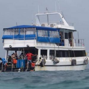 DMCR Phuket searching for dive boat for damaging corals
