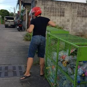 Local community turns garbage into gold