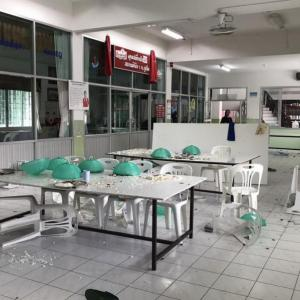 Phuket teenaged delinquents in riot at juvenile observation center
