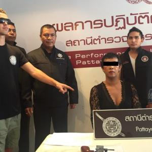 2 ladyboys nabbed for pickpocketing Aussie