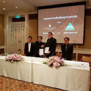 Dhara Dhevi Signed an MOU with Spa Origins with the Aim to Push Dheva Spa as a Leading Health and Wellness Centre
