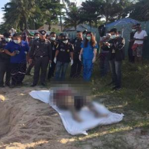 Horror in paradise - tourist digs up corpse on holiday beach in Koh Samui