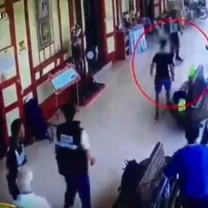 Knife man in Hua Hin station rampage - all because he had the wrong ticket