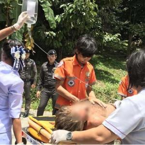 Briton survives three days in the jungle after Samui waterfall plunge