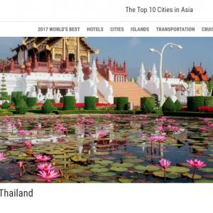Chiang Mai Wins Best City In Asia and Third Best City in the World by Travel and Leisure Magazine