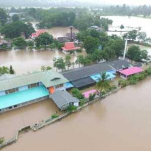 Emergency evacuations of at-risk groups amid flooding