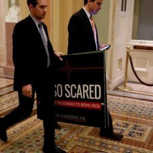 Republican Obamacare repeal bill fails in U.S. Senate