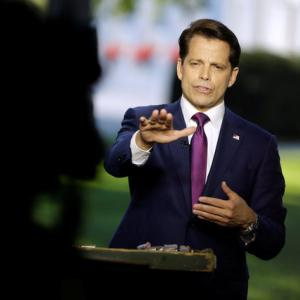 White House divisions on display with Scaramucci's comments