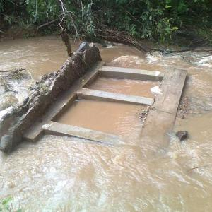 Floods in Galyani Vadhana Destroy Farms and Omkoi Flood Defenses at Breaking Point