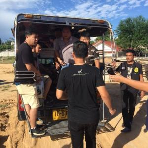 Illegal foreign workers rounded up at Pattaya construction site