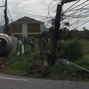 Deadly Phuket cement truck driver charged, released on bail