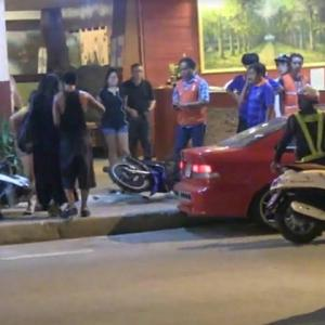 Beer bar owner's son goes ape - girlfriend and public assaulted, vehicles damaged