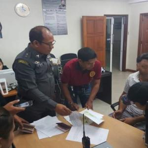Two Iranians arrested for trying to extend stay on fake passports atChonburi immigration