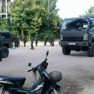 Army drill in Lamphun frightens residents