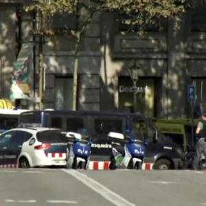 Van ploughs through crowd in Barcelona, killing about 12