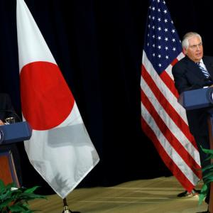 U.S., Japan step up defence cooperation to counter North Korea