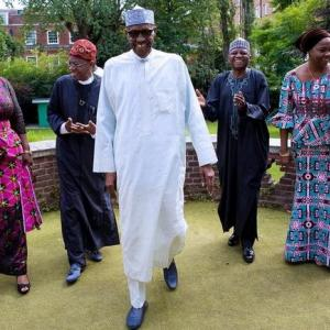 Nigeria's Buhari returns home after three-month sick leave in Britain