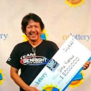 Thai man wins 5 million dollars from California lottery game