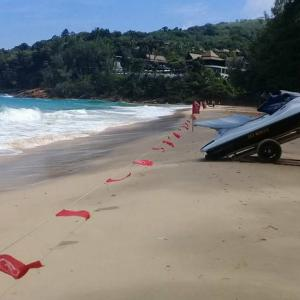 Phuket lifeguards warn of surf danger as sections of beaches closed