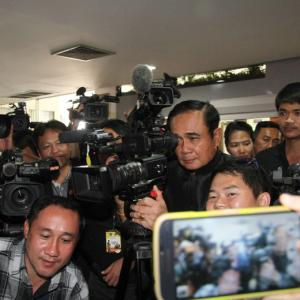 Prayut questions whether media serving public interest by not reporting on ministers' work