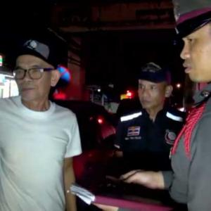 No laughing matter as well known Thai comic rear ended by ten wheel truck in Chonburi