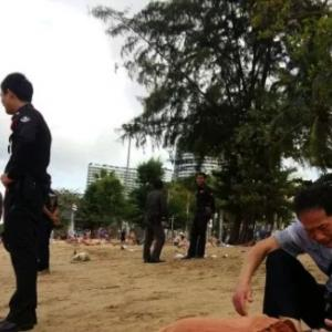 Chinese Tourist Drowns at Jomtien beach