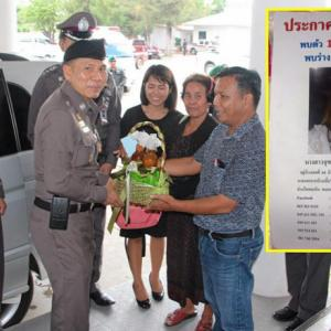 Relatives of missing Sisaket woman thank police for their efforts