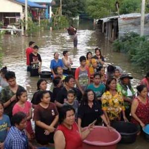 Cabinet gives provisional go-ahead for Bt200-bn flood-prevention plan