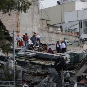 Major earthquake hits near Mexico City, dozens dead