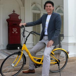 'Ofo' launches bike sharing in Phuket Town